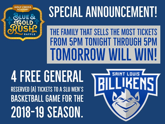 Blue & Gold Rush SPECIAL ANNOUNCEMENT #2!